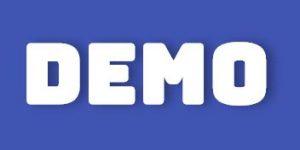 Demo button