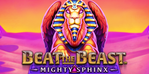 beat-the-beast-mighty-sphinx-slot-logo