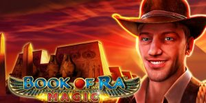 Book of Ra Magic slot logo