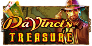 Da-Vinci's-Treasure-Slot-logo