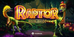 Raptor Doublemax slot logo