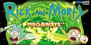 Rick and Morty Megaways slot logo