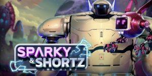 Sparky shorty slot logo